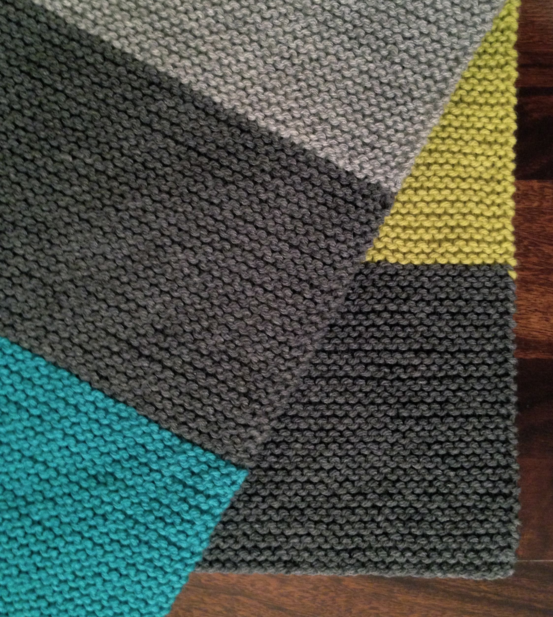 Knitting Pattern For Garter Stitch Baby Blanket : CLASSES/PROJECTS HANDMADE